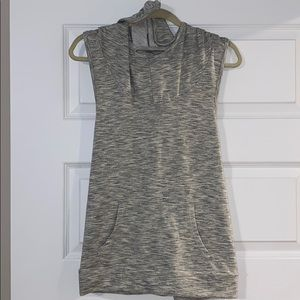 Mossimo Supply Co Hooded Sleeveless Top